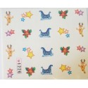 STICKERS WATER DECAL NATALE COD.1226