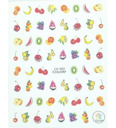 STICKERS WATER DECAL NATALE COD.1221
